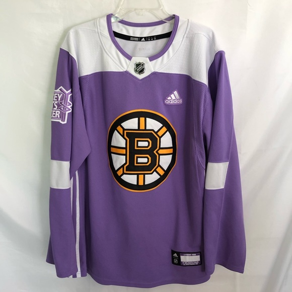 separation shoes 49001 8869d boston bruins hockey fights cancer jersey